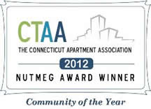 2012 Winners of Community of the Year by the Connecticut Apartment Association